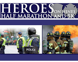 Wayne County Heroes on Hines Half Marathon and 5K Run