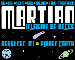 Martian Invasion of Races