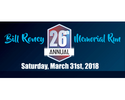 26th ANNUAL BILL RONEY 5K