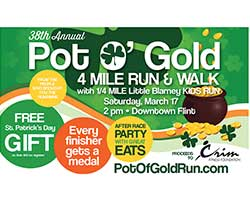 Pot O'Gold 4 Mile Run/Walk