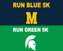 Run Blue / Run Green 5k