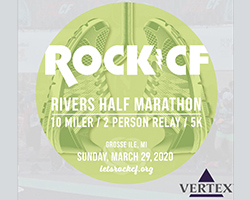VIRTUAL ONLY - 10th annual Rock CF Rivers Half Marathon, 10 Miler, 2 Person Relay & 5K Run/Walk