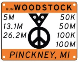 VIRTUAL ONLY FOR 2020 - Run Woodstock 5M, 13.1M, 26.2M, 50K, 50M