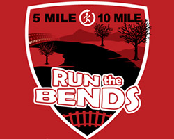 **IN-PERSON**  Run the Bends 5 Mile - 10 Mile