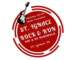 6th ANNUAL ST. IGNACE ROCK & RUN In Person AND Virtual